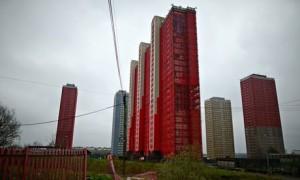 Il complesso residenziale Red Road di Glasgow. Foto The Guardian