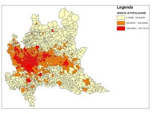 Densità Lombardia