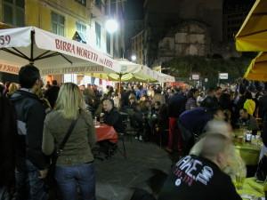 piazza Erbe notte