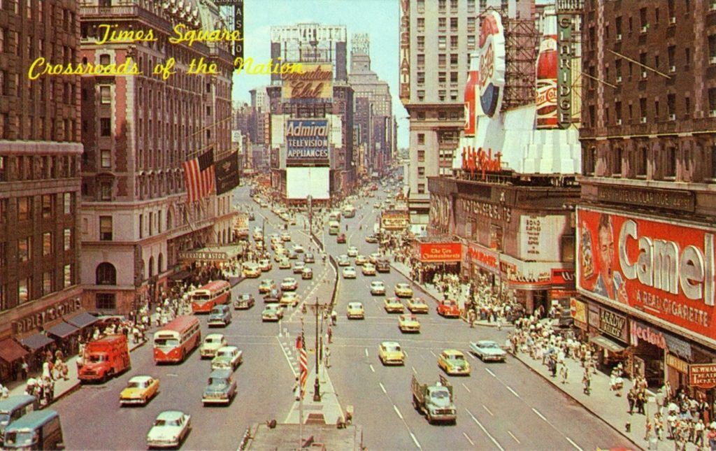 Times Square late 1950s